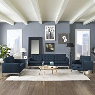 Loft Modern Fabric Living Room Sofa Set