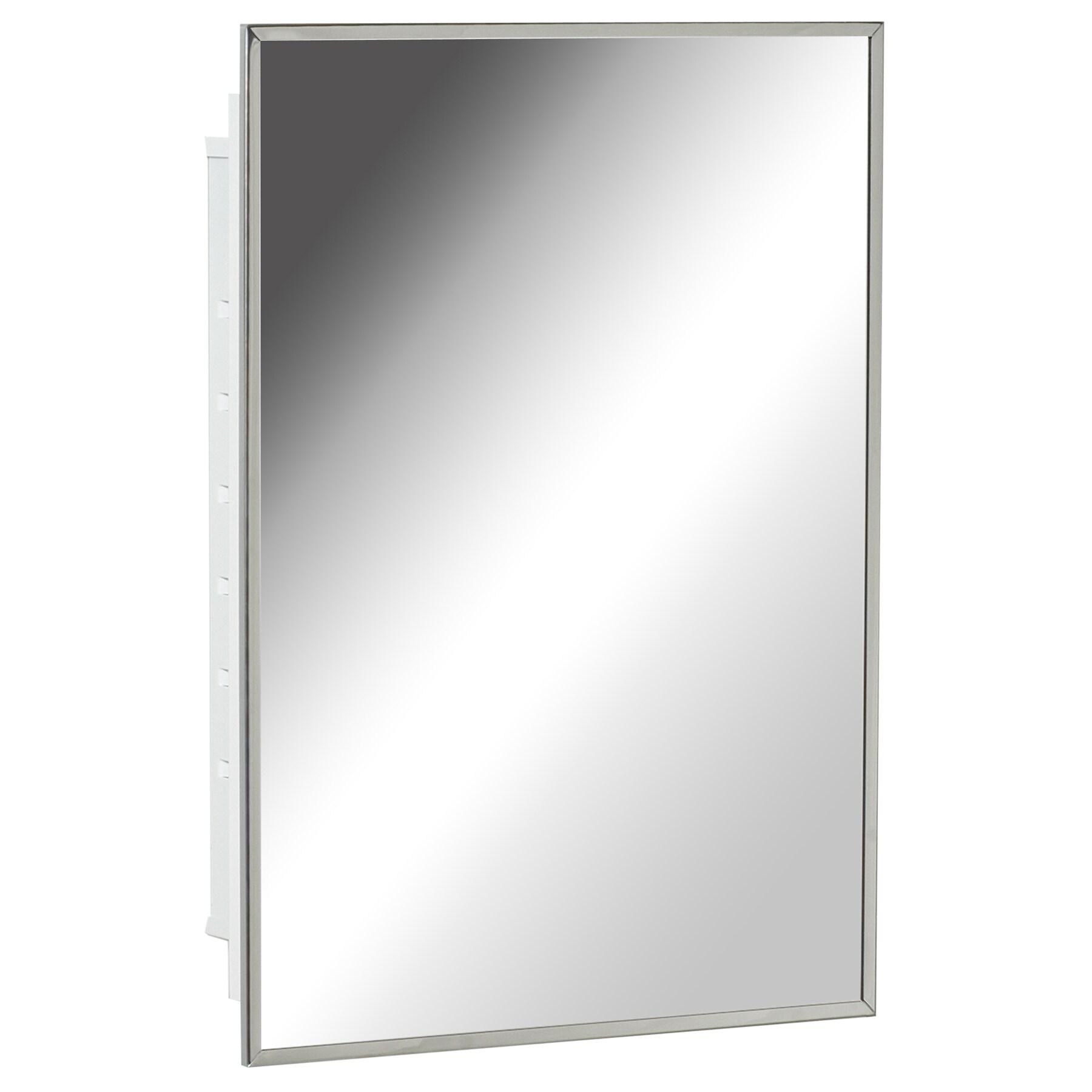 Zenith Products X314 Stainless Steel Swing Door Medicine Cabinet Overstock 12653810