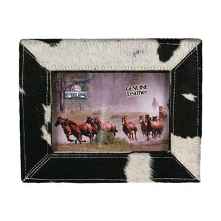 The Rivers Edge Cowhide 5 x 7 Picture Frame
