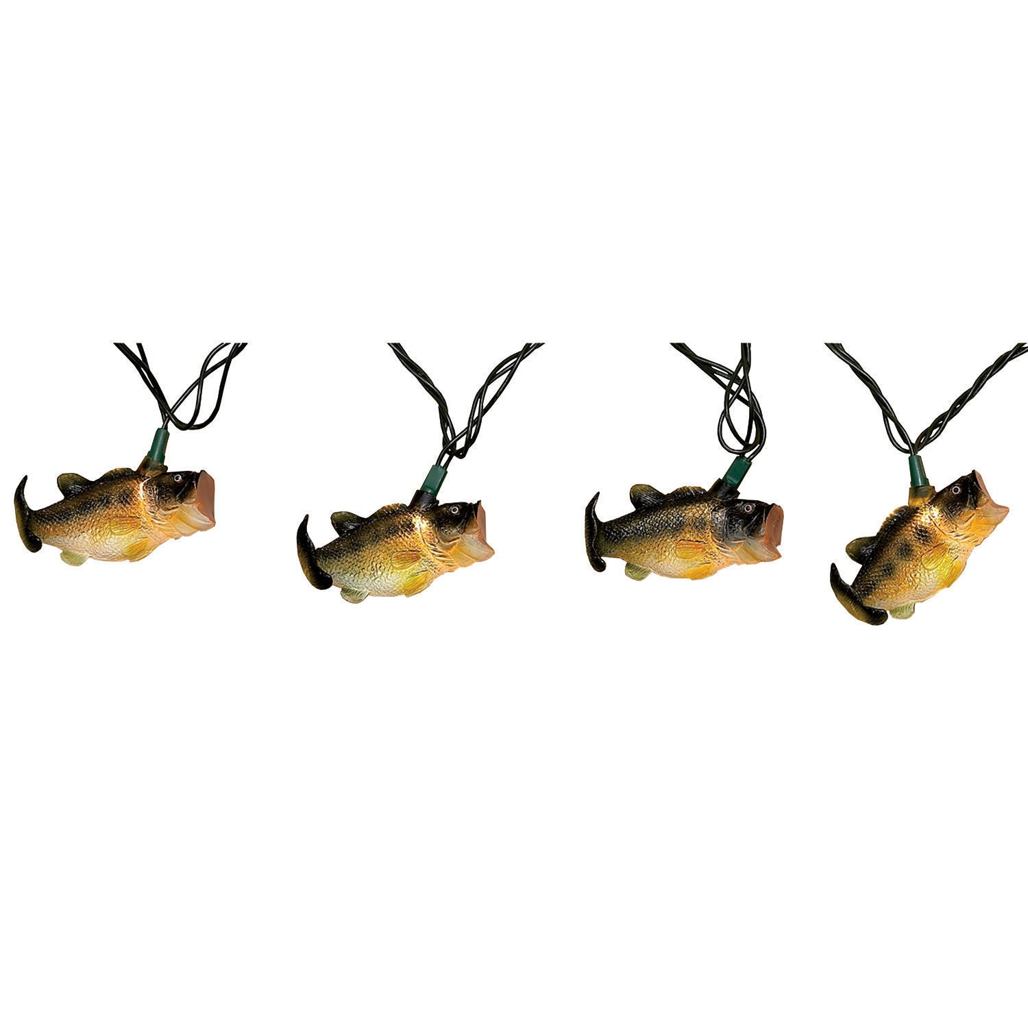 River's Edge 10-foot Deluxe Bass String Lights (Multi Col...