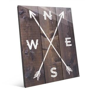'Direction Arrows' Acrylic Wall Art