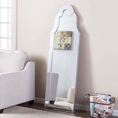 Silver Orchid Adoree Leaning Mirror