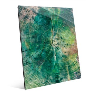 'Rings of Time' Wall Art on Glass