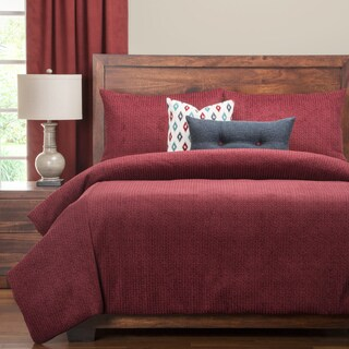 PoloGear Tumbleweed Crimson Luxury Duvet Cover Set