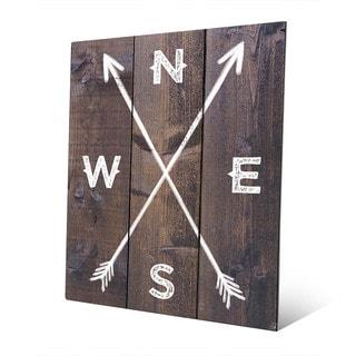'Direction Arrows' Metal Wall Art