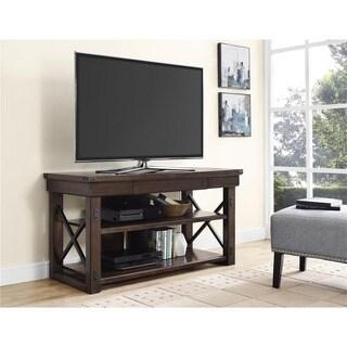 Ameriwood Home Wildwood Mahogany Veneer 50-inch TV Stand