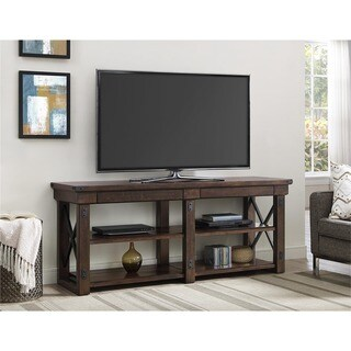 Carbon Loft Konkle Mahogany Veneer 65-inch TV Stand