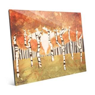'Forest Autumn' Wall Art on Glass