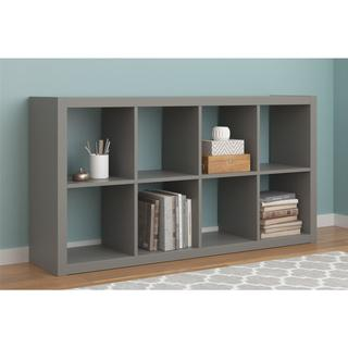 Ameriwood Home Parsons Grey Hollow Core 8 Cube