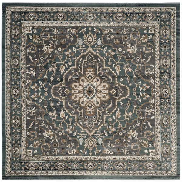 Shop Safavieh Lyndhurst Traditional Oriental Teal Grey