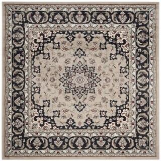 Safavieh Lyndhurst Traditional Oriental Cream/ Anthracite Rug (7' Square)