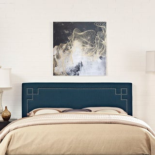 Modway Josie Azure Full Fabric Headboard