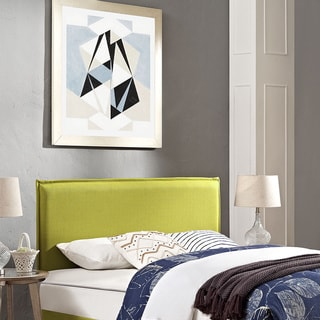 Camille Full Fabric Wheatgrass Headboard