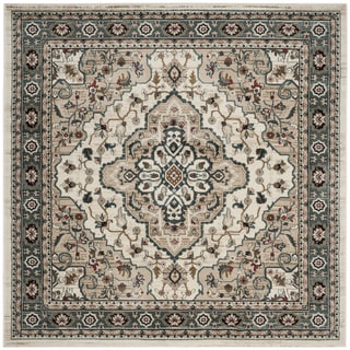 Safavieh Lyndhurst Traditional Oriental Cream/ Beige Rug (7' Square)