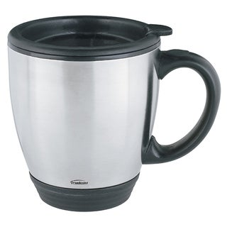 Trudeau Corporation 044530 16 Oz Desk Mug With Lid