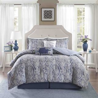 Harbor House Stella Cotton Sateen Printed 6 Piece Comforter Set