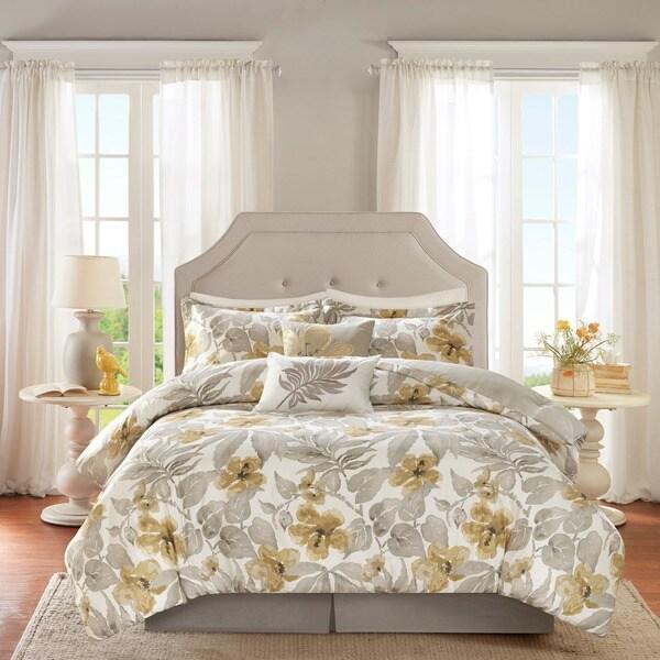 Harbor House Gabrielle Cotton Sateen Printed 6-piece Comforter Set