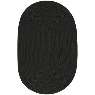 Safavieh Martha Stewart Winding Braid Ebony Rug (2' x 3' Oval)