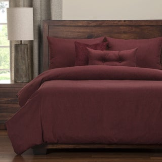 PoloGear Camelhair Crimson Luxury Duvet Cover Set