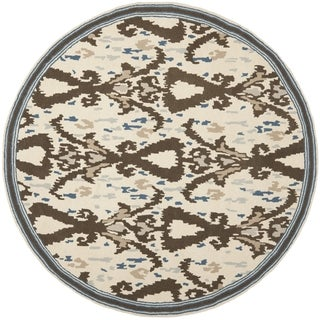 Safavieh Martha Stewart Collection Clove Wool Rug (4' Round)