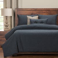 PoloGear Belmont Deep Blue Luxury Duvet Cover Set