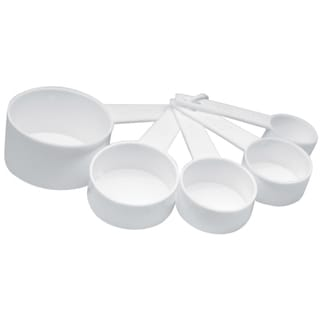 Norpro 3044W 5 Piece Plastic Measuring Cup Set