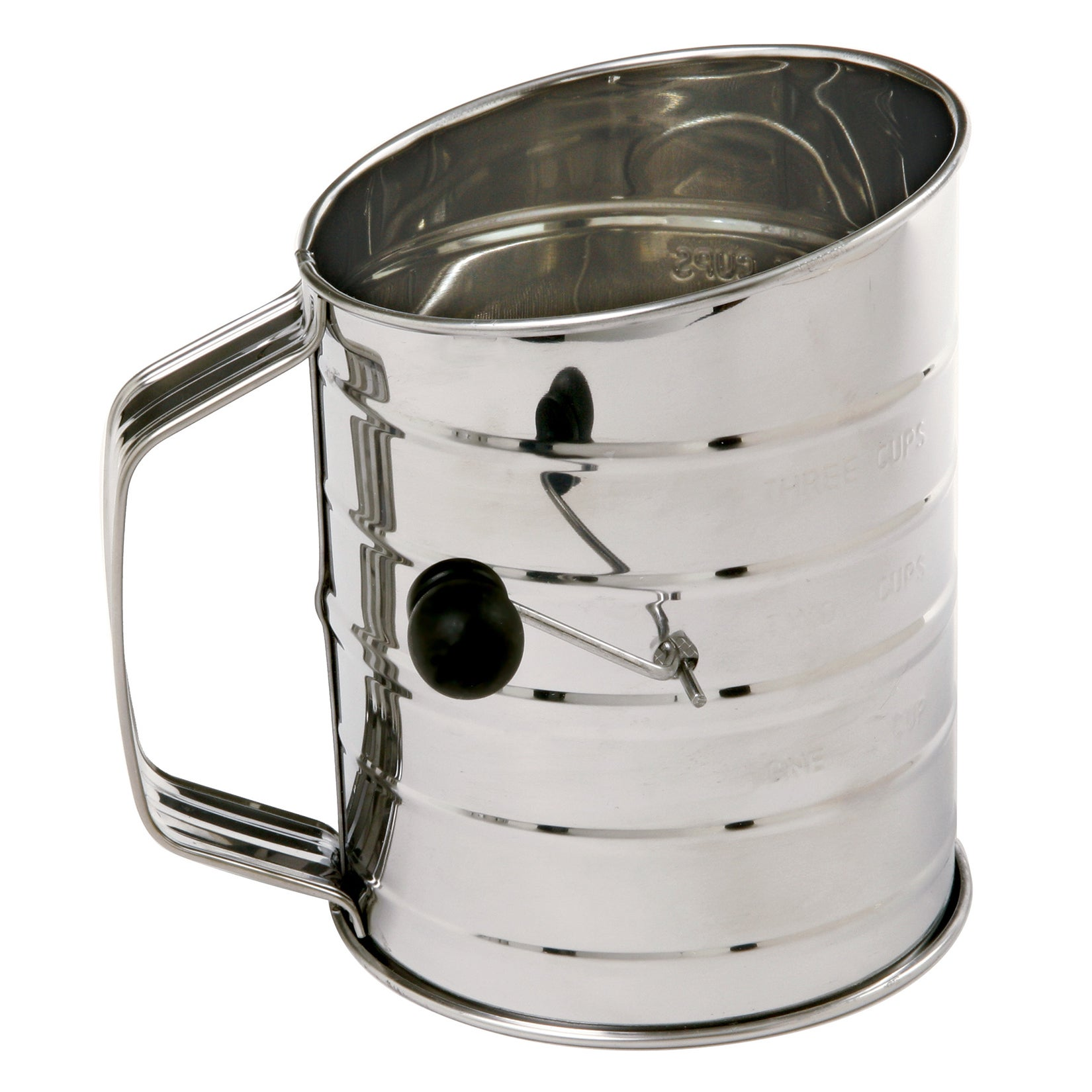 Norpro 136 3 Cup Stainless Steel Flour Sifter (Flour Sift...