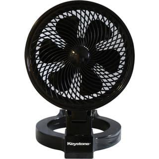 Keystone Black Plastic 7-inch Convertible Fan|https://ak1.ostkcdn.com/images/products/12656300/P19444690.jpg?impolicy=medium