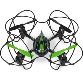 Quadrone with 4-channel 2.4GHz RC Quadcopter Drone with Best Protective Cover