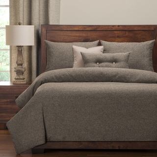 PoloGear Belmont Greystone Luxury 6-Piece Duvet Cover Set (California King)