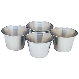 Norpro 208 4-count Stainless Steel Sauce Cups