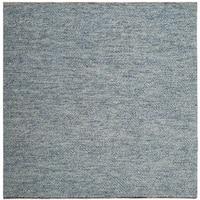 Safavieh Handmade Natura Southwestern Blue Wool / Cotton Rug - 6' Square