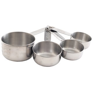 Norpro 3052 Stainless Steel Measuring Cup Set 4 Piece
