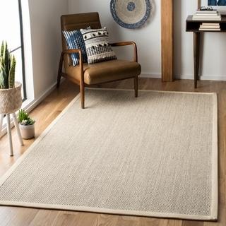 Safavieh Natural Fiber Marble / Beige Sisal Rug (10' Square)