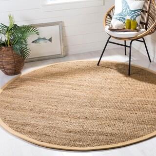 Safavieh Handmade Natural Fiber Natural Jute Rug (9' Round)