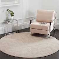 Safavieh Vision Contemporary Tonal Cream Area Rug - 6' 7 Round