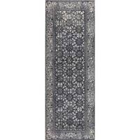 "M.A.Trading Handmade Houston Grey (2'6""x8') (India)"