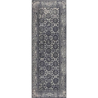 "M.A.Trading Handmade Houston Grey (2'6""x8') (India)"