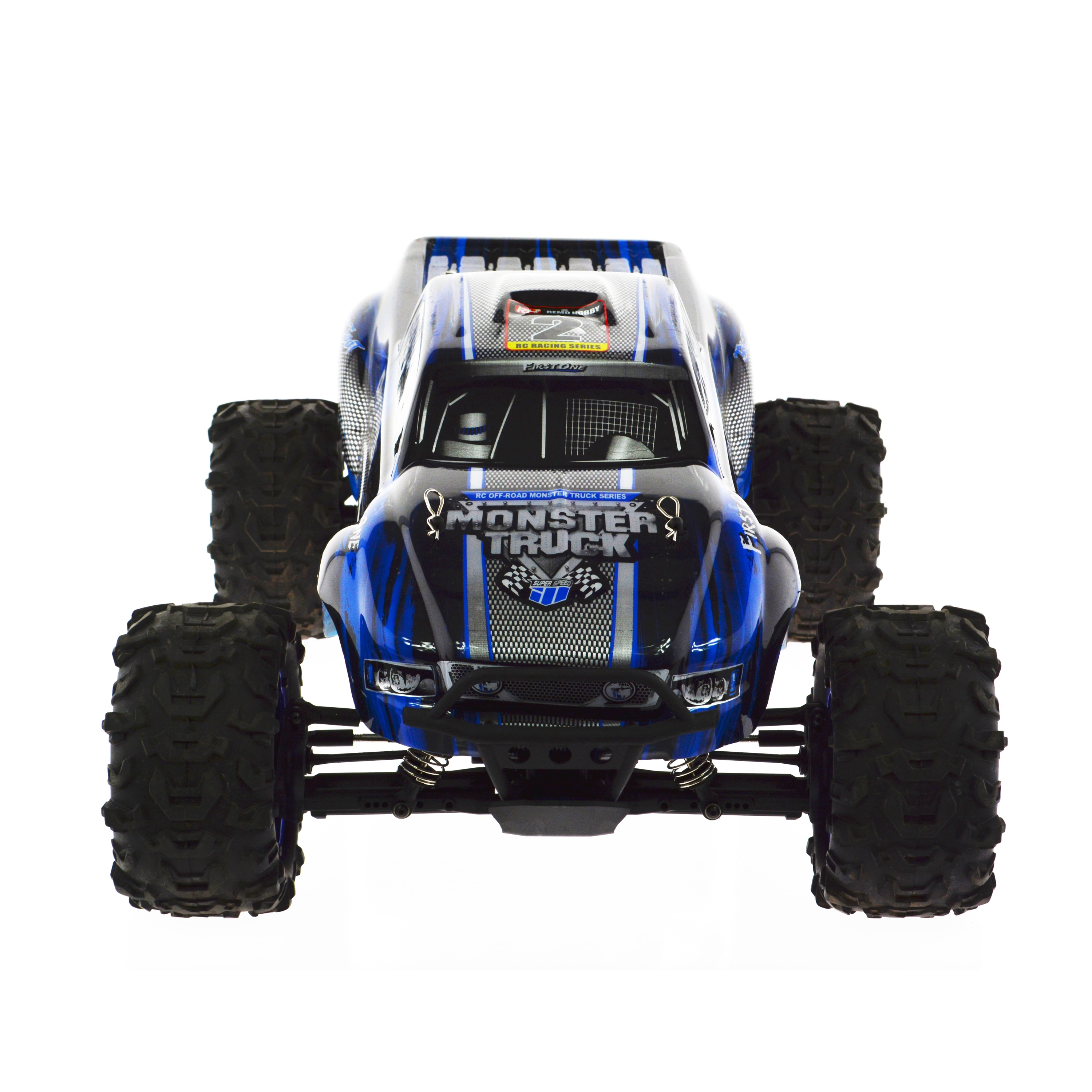 Shop 1 8 Scale Electric 4wd 2 4g Rc Off Road Brushless Monster Truck Overstock 12656695