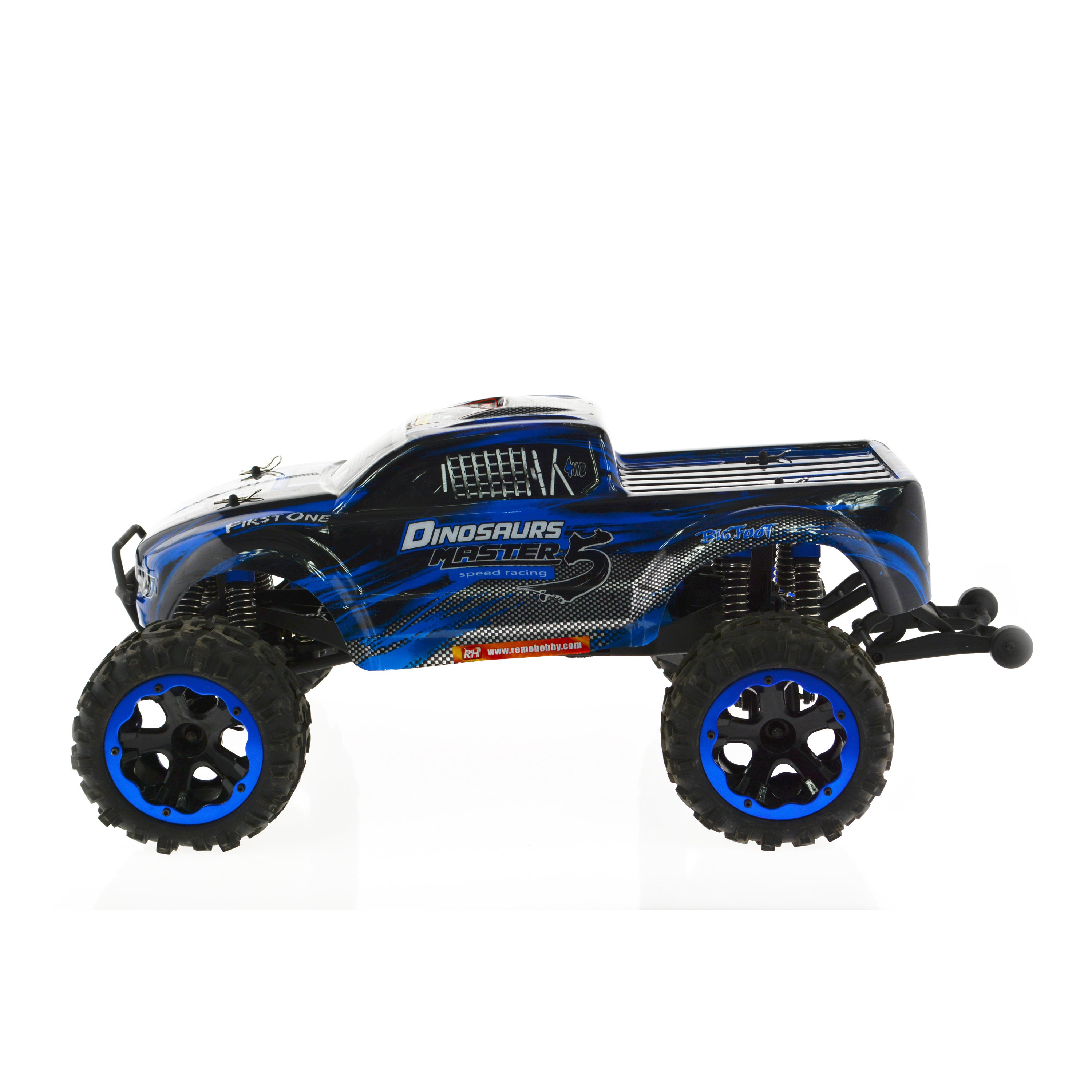 1/8 Scale Electric 4WD 2.4G RC Off-Road Dinosaurs Brushle...