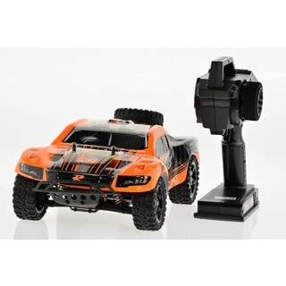 RC 1/16 Scale Electric 4-wheel Drive 2.4G Off-road Brushed Short-course Truck Rocket