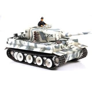 VS Tanks 1:24 Winter Camo German Tiger I RC Tank