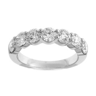 Azaro 18k White Gold 2ct TDW Diamond Fashion Band (G-H, SI1-SI2)