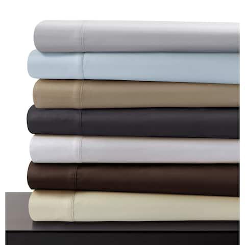 Egyptian Cotton 600 Thread Count Pillowcase Set (Set of 2)