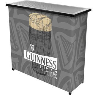 Buy guinness bar pub tables online at overstock our best guinness portable bar with case watchthetrailerfo
