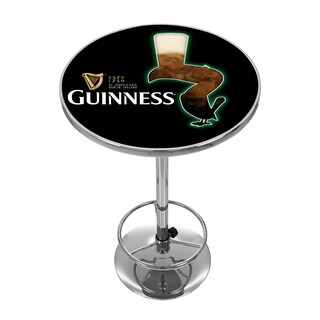 Guinness Chrome Pub Table