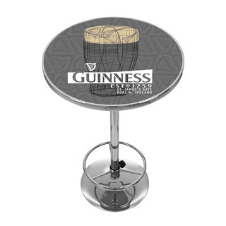 Guinness Chrome Pub Table