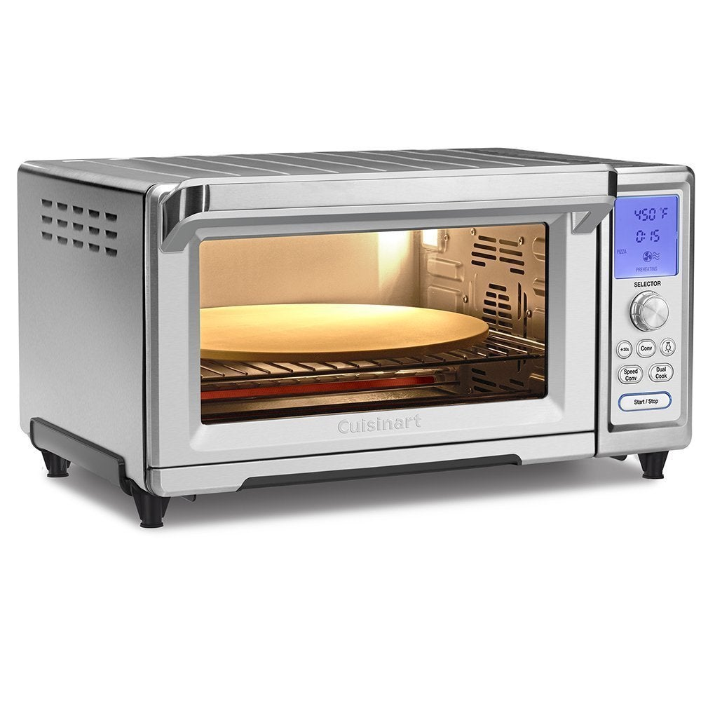Cuisinart TOB-260N1 Chef's Convection Toaster Oven, Silve...