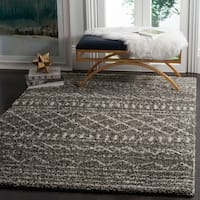 Safavieh Arizona Shag Southwestern Brown / Ivory Rug - 7' x 10'
