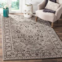 Safavieh Handmade Antiquity Grey / Beige Wool Rug - 8' x 10'